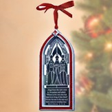Wiseman Christmas Story Window Ornament