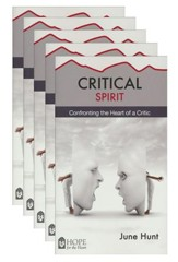 Critical Spirit: Confronting the Heart of a Critic - 5 Pack