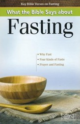 What the Bible Says about Fasting, Pamphlet