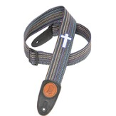 Guitar Strap with Cross, Multi Colored