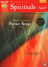 Partners in Spirituals - Again! Songbook &   Accompaniment/Performance Audio CD