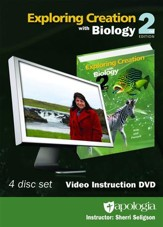 Exploring Creation with Biology 2nd Edition Video  Instruction DVD (2015 Update)