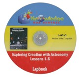 Exploring Creation with Astronomy Lessons 1-6 Lapbook CD-Rom