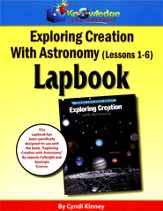 Exploring Creation with Astronomy Lessons 1-6 Lapbook