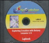Exploring Creation with Botany Lessons 1-5 Lapbook  CD-Rom