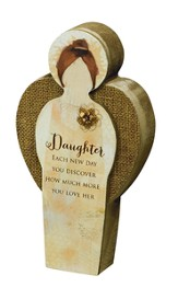 Daughter, Blessing Angel Plaque