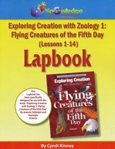 Exploring Creation with Zoology 1: Flying Creatures of the 5th Day Lapbook Package (Lessons 1-14)