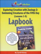 Exploring Creation with Zoology 2: Swimming Creatures of the 5th Day Lessons 1-5 Lapbook