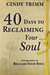 40 Days to Reclaiming Your Soul: A Companion to Reclaim Your Soul - eBook