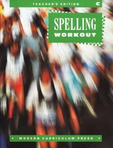 MCP Spelling Workout Level C (Gr. 3) Teacher's Edition