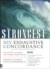The Strongest NIV Exhaustive Concordance - Slightly Imperfect