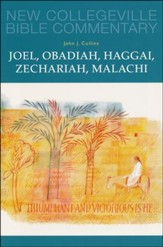 Joel, Obadiah, Haggai, Zechariah, Malachi: New Collegeville Bible Commentary, Vol. 17
