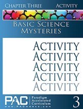 Basic Science Mysteries Activities Booklet, Chapter 3