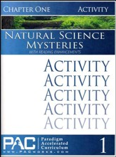 Natural Science Mysteries Activities Booklet, Chapter 1
