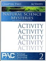 Natural Science Mysteries Activities Booklet, Chapter 2