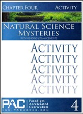 Natural Science Mysteries Activities Booklet, Chapter 4