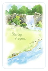 Living Waters Birthday Cards, Box of 12