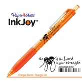 Behold the Joy of His Way Pen, Orange