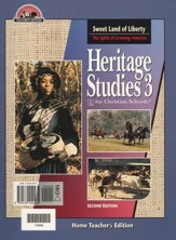 BJU Heritage Studies Grade 3, Home Teacher's Edition
