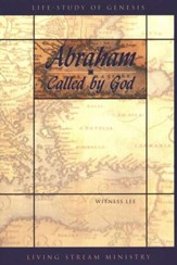 Abraham... Called by God