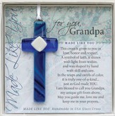 Grandpa, Hanging Cross, Blue