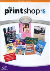 The Print Shop Deluxe 15 For Windows Enhanced Educational Version CD-ROMS