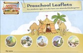 Amazing Desert Journey Student Travel Journal: Preschool Leaflets - Slightly Imperfect
