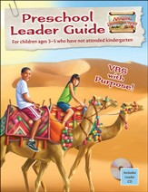 Amazing Desert Journey Preschool Leader Guide with CD