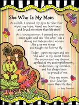 She Who Is My Mom Magnet