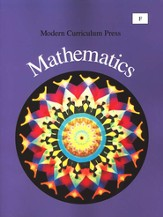 Modern Curriculum Press Math Student Book, Level F, Grade 6