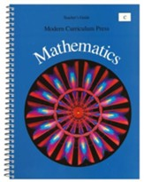 Modern Curriculum Press Math Teacher's Guide, Level C, Grade 3