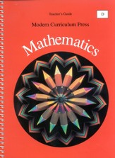Modern Curriculum Press Math Teacher's Guide, Level D, Grade 4
