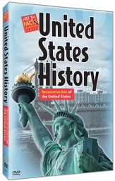 U.S. History : Reconstruction of the United States DVD