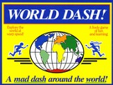 World Dash! A Mad Dash Around the World! Game