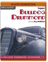 #1: Bulldog Drummond - unabridged audio book on MP3-CD