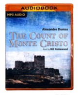 The Count of Monte Cristo - unabridged audio book on MP3-CD