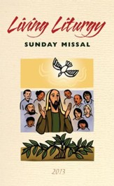 Living Liturgy Sunday Missal 2013: - Slightly Imperfect