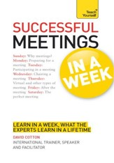 Successful Meetings in a Week: Teach Yourself / Digital original - eBook