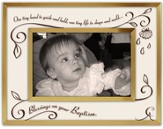 Blessings On Your Baptism Photo Frame