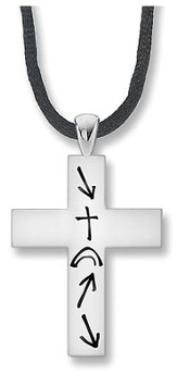 Men's Witness Cross Necklace