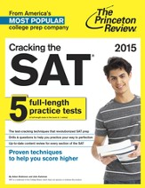 Cracking the SAT with 5 Practice Tests, 2015 Edition - eBook