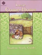 Lassie Come-Home, Literature Guide 4th Grade, Student Edition