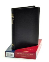 KJV Minister's Bible Genuine Leather Black