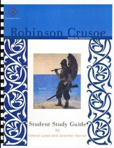 Robinson Crusoe, Literature Guide 7th Grade, Student Edition