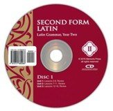 Second Form Latin, Pronunciation CD