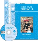 First Start French--Book 1 Kit with Pronunciation CD