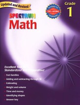 Spectrum Math, 2007 Edition, Grade 1