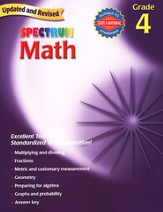 Spectrum Math, 2007 Edition, Grade 4