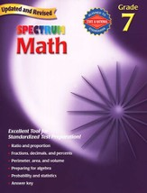 Spectrum Math, 2007 Edition, Grade 7