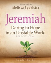 Women's Bible Study Leader Guide: Daring to Hope in an Unstable World - eBook